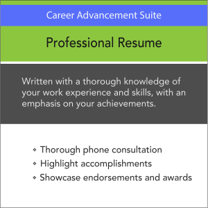 Vertical Media Solutions AMS Career Advancement Suite Professional Resume