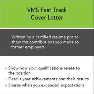 Vertical Media Solutions VMS Fast Track Cover Letter