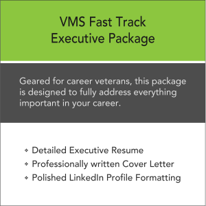 Vertical Media Solutions VMS Fast Track Executive Resume Package