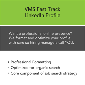 Vertical Media Solutions VMS Fast Track LinkedIn Profile Formatting