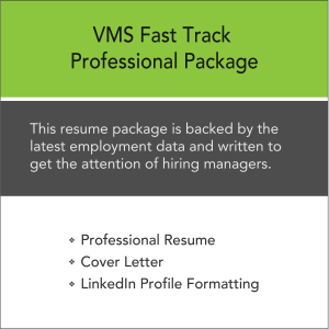 Vertical Media Solutions VMS Fast Track Professional Resume Package
